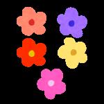 お花のあたま(くきなし)
