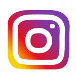 Instagramのロゴっぽいイラスト